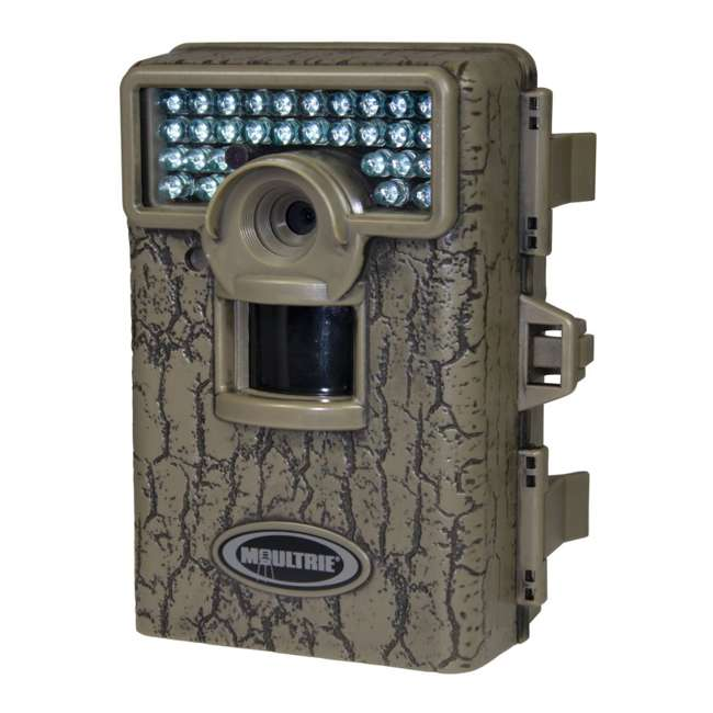 DGS-M80XD + 2 x MCA-12605 + 2 x SD2GB MOULTRIE M80XD Mini Infrared Digital Trail Cameras (2) + Security Boxes (2) + 2GB SD Cards (2)  1
