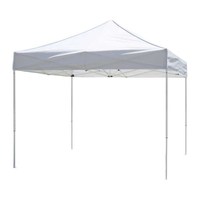 ZS10VNTWH Z-Shade Venture 10 x 10 Foot Outdoor Event Canopy, White