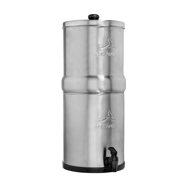 ALEXAPURE-2394 Alexapure Pro Stainless Steel Water Filtration System