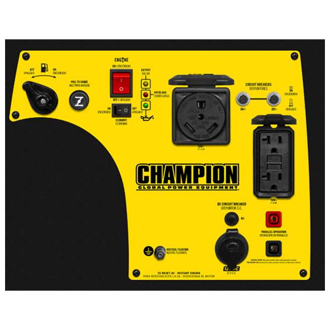 CPE-GN-100233 Champion Power Equipment 100233 3400W Inverter Generator w/ Parallel Capability 1