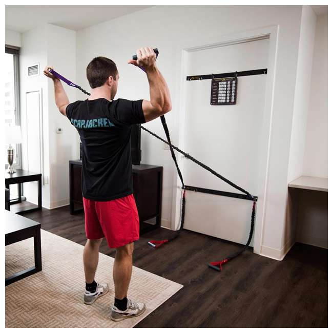 IESRS2 Crossover Symmetry Individual Exercise Package with Squat Rack Straps, Elite 4