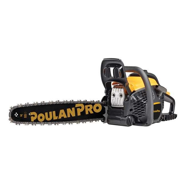 "PL-967061503-BRC-RB-U-A Poulan Pro 20"" Bar 50cc 2 Cycle Gas Chainsaw (Certified Refurbished) (Open Box)"