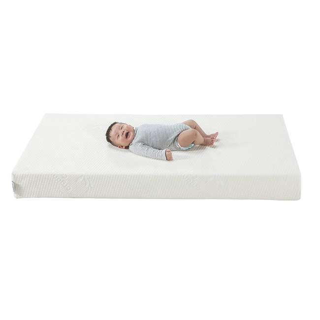 06711-300 Graco Natural Organic Foam Crib & Toddler Bed Mattress 8