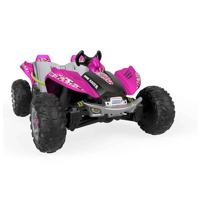 FLP27 + 74777 Power Wheels Battery Toy Car w/ Extra 12 Volt Rechargable Replacement Battery 1
