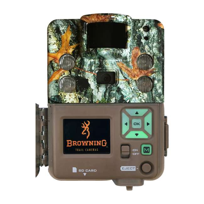 BTC 5HDPX Browning BTC-5HDPX Game Trail Cameras Strike Force Pro X 20 MP Game Cam, Camo 1