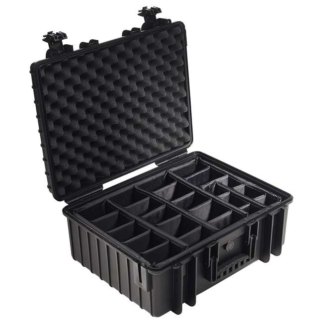 6000/B/RPD B&W International Type 600 Plastic Outdoor Storage Case w/ Customizable Interior 1
