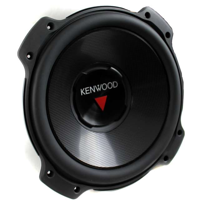 KFC-W3016PS + QBASS12 Kenwood 12-inch 2000 Watt Car Subwoofer (Pair) + Q Power Dual 12-inch Vented Port Sub Enclosure Box 2
