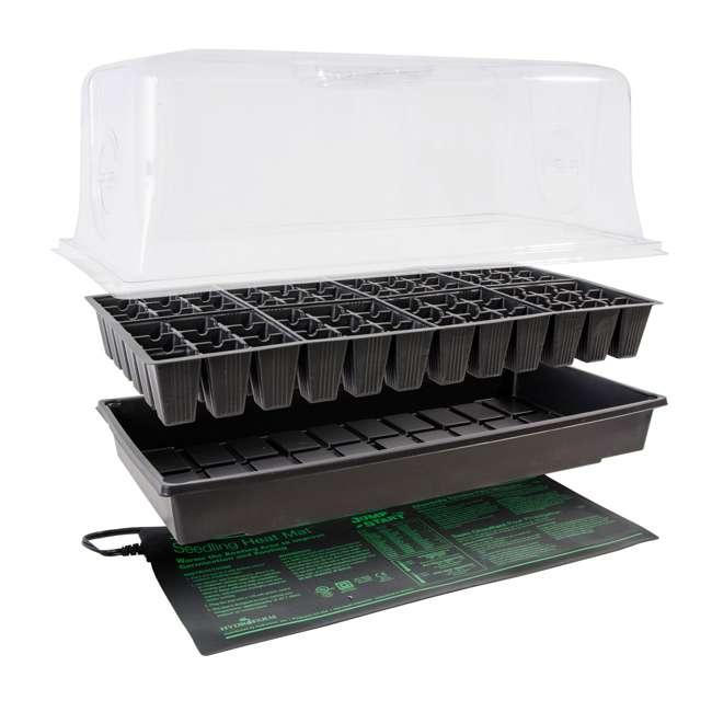 CK64060-U-A HYDROFARM CK64060 Germination Hot House with Heat Mat Hydroponic Grow (Open Box) 1