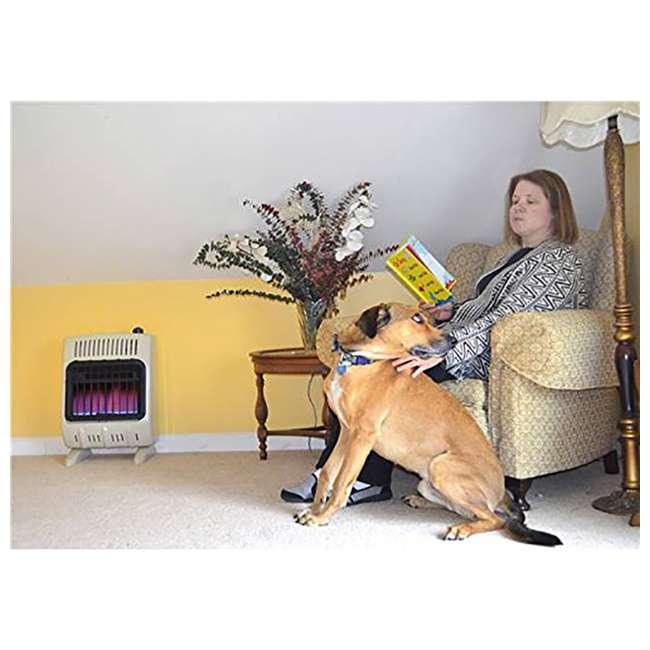 MH-F299710 Mr. Heater Vent Free 10,000 BTU Blue Flame Multi Indoor Safe Propane Heater, Tan 5