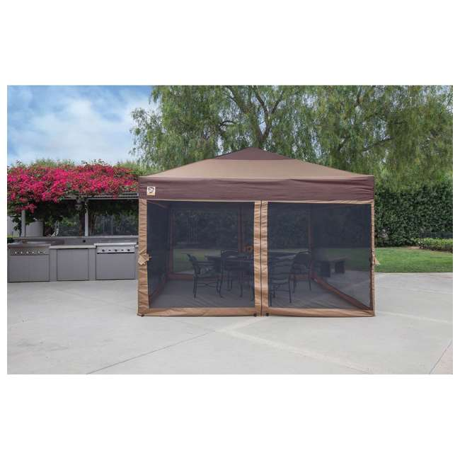 3 x ZS12LGSR3TN-U-A Z-Shade Mesh Wall Screen Room Attachment for 12 x 12 Canopy  (Open Box) (3 Pack)