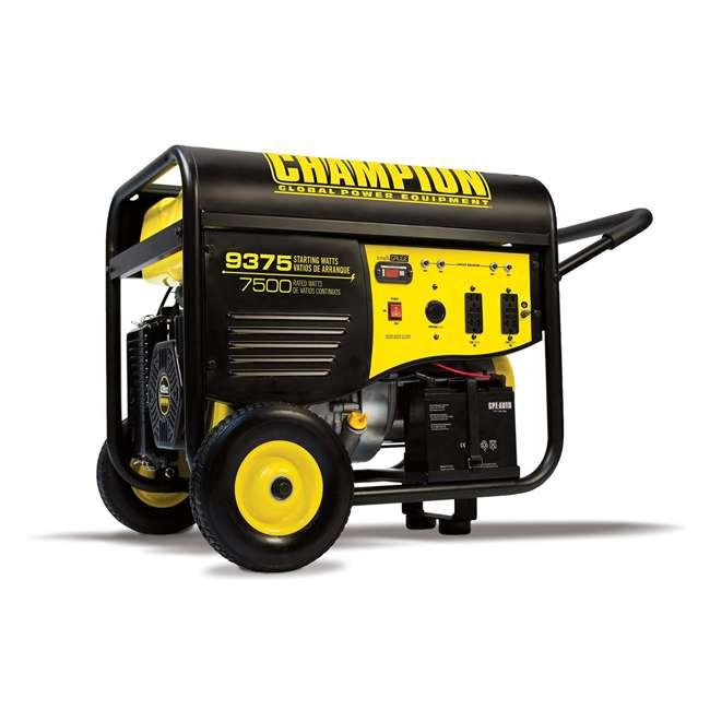 CPE-GN-100219 Champion 7500-Watt Portable RV-Ready Gasoline Generator (2 Pack) 1