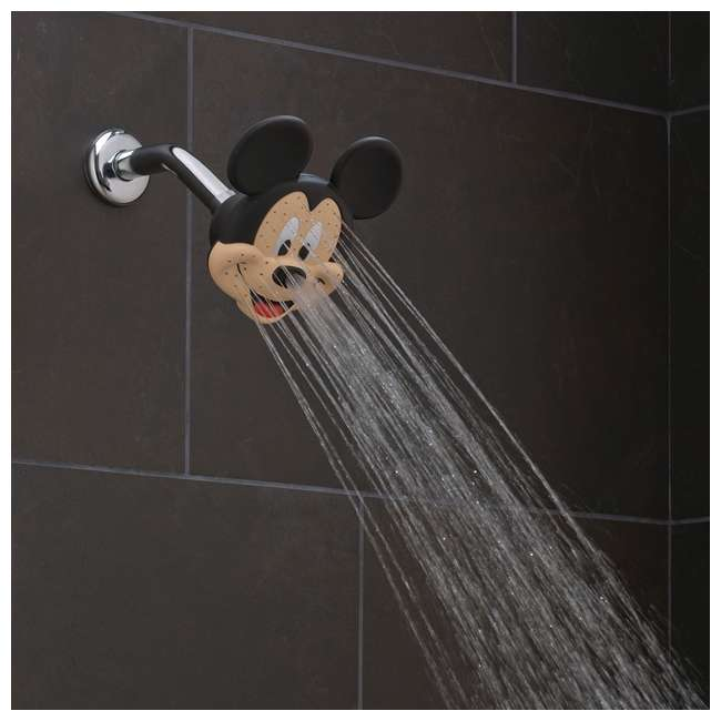 Oxygenics Disney Mickey Mouse Fixed Shower Head 79268