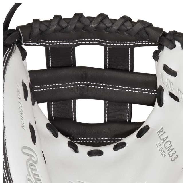 RLACM33-3/0 Rawlings Liberty Advanced 33-Inch Catcher Mitt Adult Softball Glove 3