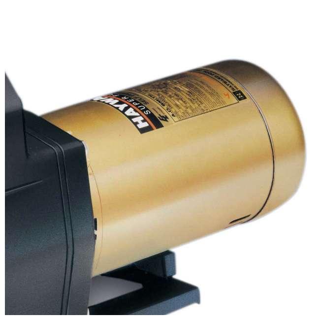 SP2610X152S-U-C Hayward 1.5 HP 2 Speed Heavy Duty Motor Circulation Pump (For Parts) (2 Pack) 1