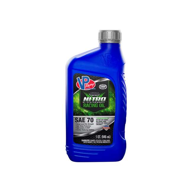 2689 VP Racing 2689 Nitro High Performance SAE 70 ZDDP Enhanced Racing Oil, Blue
