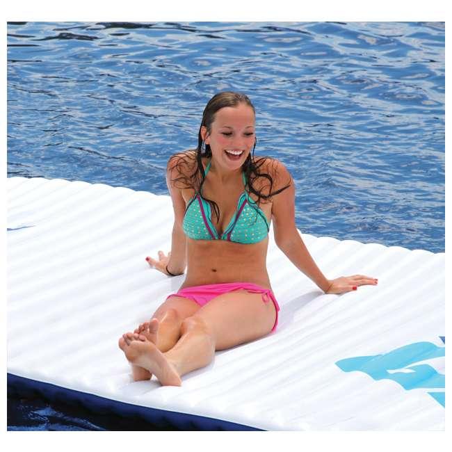 AHGP-6-OB AIRHEAD AHGP-6 Gang Plank Inflatable Floating Island Water (Open Box) 5