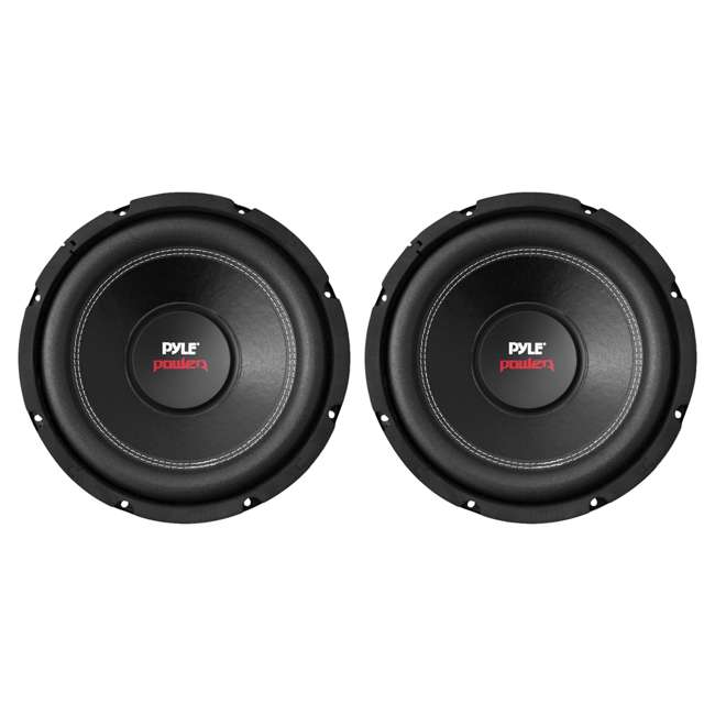 4 x PLPW12D Pyle PLPW12D 12-Inch 1600W Subwoofer (4 Pack) 1