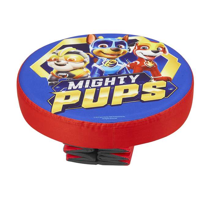 520122-005 Fresh Home Elements 15-Inch Round Portable Toy Chest and Ottoman, Paw Patrol 4