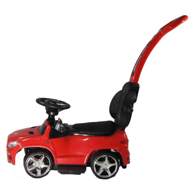 4 in 1 Mercedes Push Car Red Best Ride On Cars Baby 4 in 1 Mercedes Toy Push Vehicle, Stroller, & Rocker, Red 4