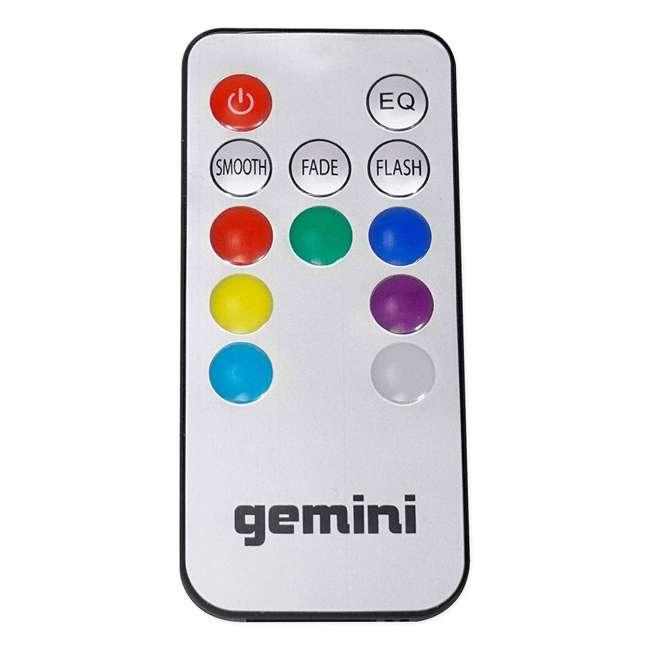 "AS-15P + STL100 Gemini AS-15P Professional Portable 15"" Active Speaker & LED 68"" Speaker Stand 10"