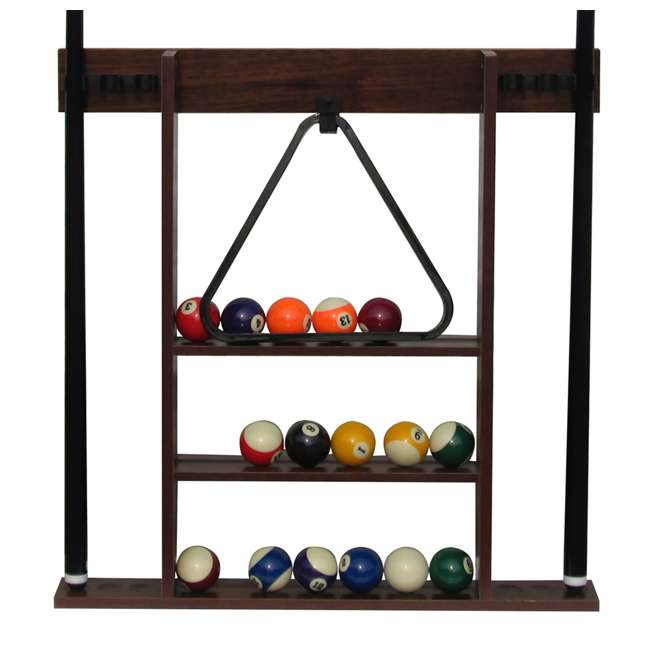 Sportcraft 7.5 Foot Ball And Claw Billiard Table With Cue Rack