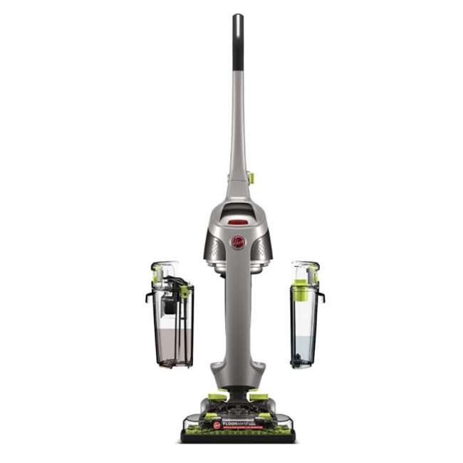 FH40190-U-D Hoover FH40190 Dual Water Tank Edge Hard Floor Surface Cleaner Machine (Damaged)