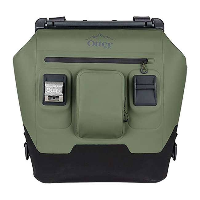 77-57014 OtterBox 30-Quart Softside Trooper Cooler with Carry Strap, Alpine Ascent Green