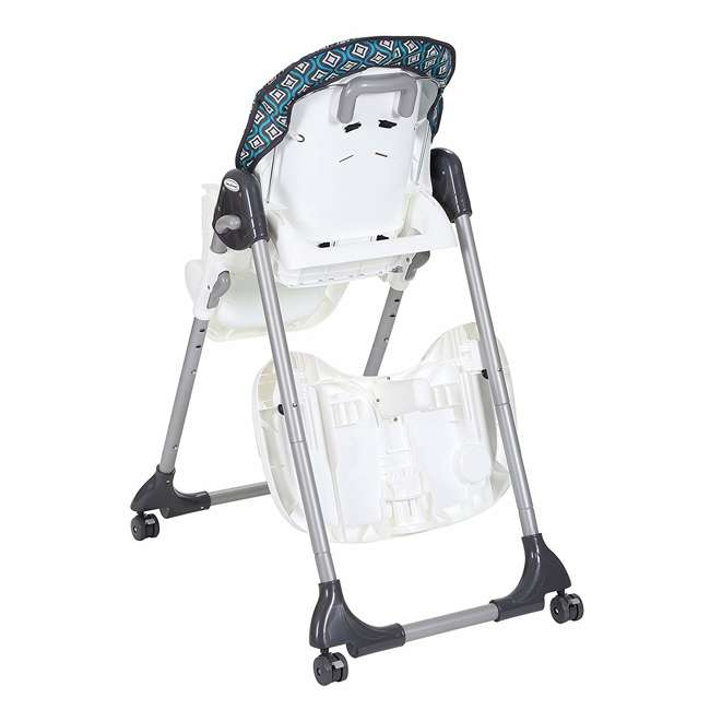 HC07914 Baby Trend HC07914 Deluxe Tranforming Recline 2 in 1 High Chair, Diamond Wave 1