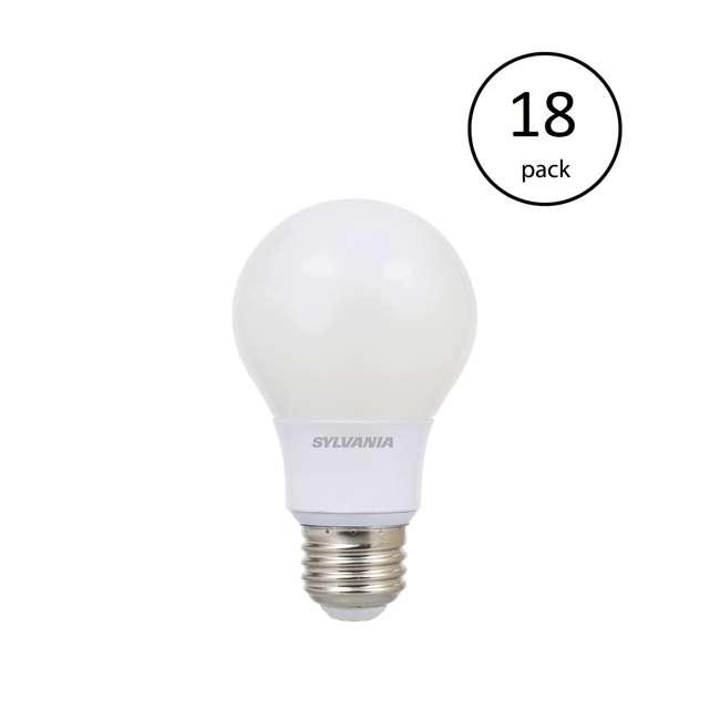 18 x SYL-79245 Sylvania Ultra A19 40W 120V E26 Dimmable Daylight 5000K LED Light Bulb (18 Pack)