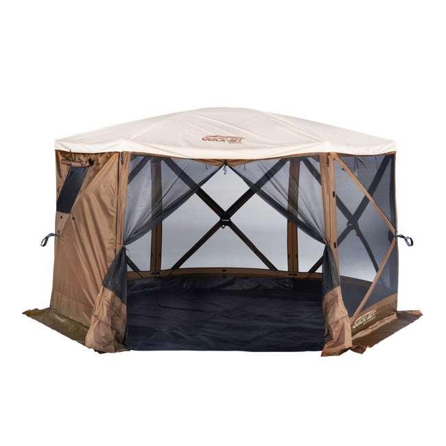 CLAM-ESSC-12874 Clam Sky Camper Portable Gazebo Canopy (2 Pack) 1