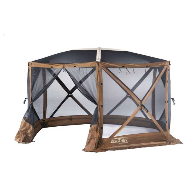 CLAM-ESSS-12873 Clam Quick-Set Escape Sky Portable Outdoor Gazebo Canopy
