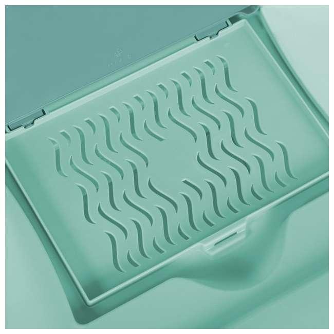 12 x 15077Y06-U-A Sterilite 64 Quart Fresh Scent Stackable Plastic Storage Box (Open Box)(12 Pack) 3