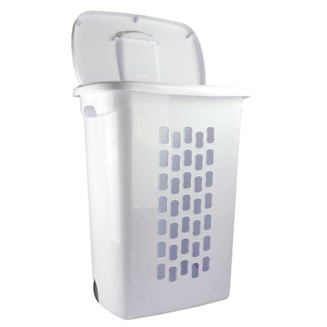 12228003-U-A Sterilite 12228003 Portable Wheeled Laundry Hamper-Open Box                6
