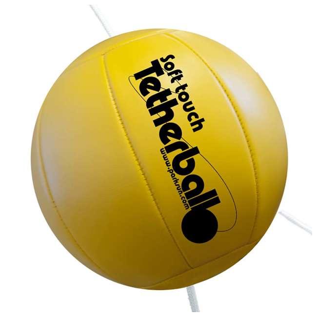 TP-158 Park & Sun Sports Outdoor 2-Pole Tetherball Set 2