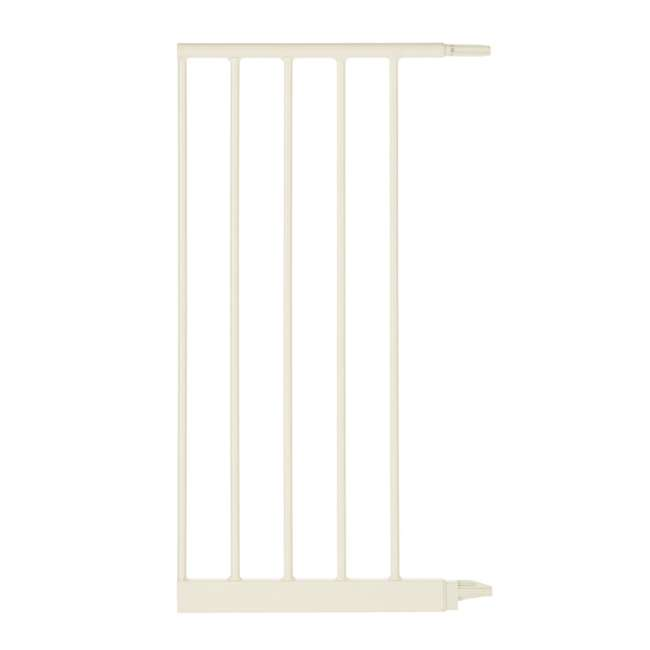 NS-4978 + NS-4974 North States Portico Arch Tall & Wide Safety Gate & 13.42 Inch Extension, Ivory 6