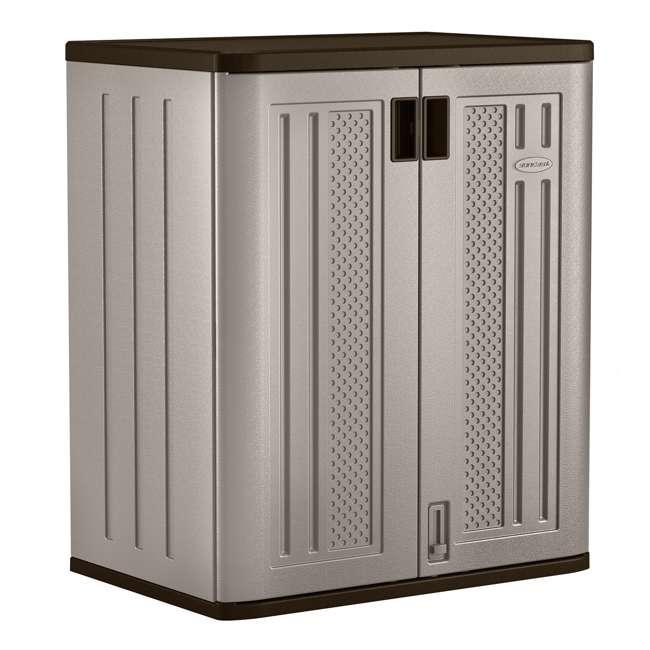 12 x BMC3600 Suncast Garage Base Storage Cabinet, Platinum (12 Pack) 1