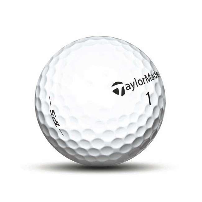 B1342401-TP5 TaylorMade TP5 Dual-Spin 5-Layer Distance Golf Balls, 1 Dozen 4
