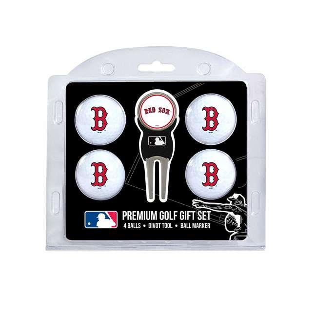 95306 Boston Red Sox Regulation Golf Ball & Divot Tool Set