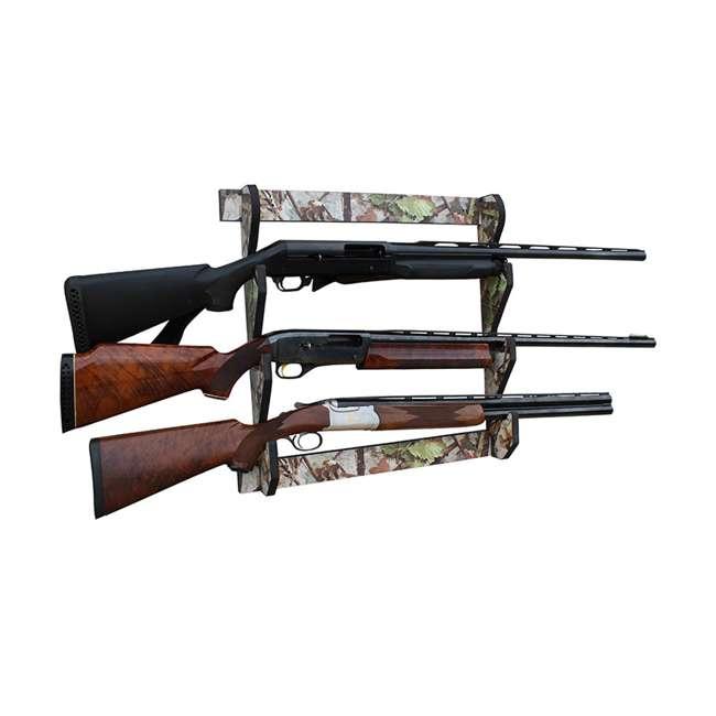 38-4042 Rush Creek Creations 38-4042 Camouflage Laminate 3 Gun Mounted Display Wall Rack