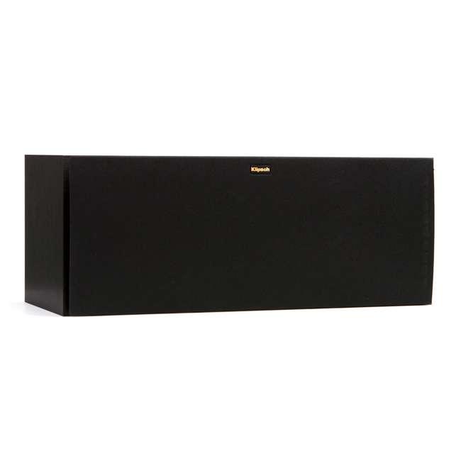 R-25C - RB Klipsch R-25C Powerful Small Aluminum Black Center Channel Speaker, Refurbished 1