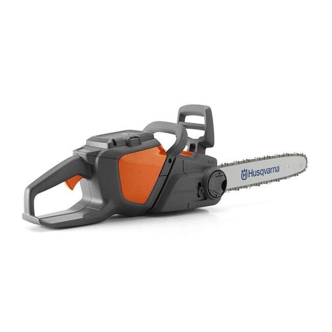 HV-CS-967098102 + HV-TOY-522771104 Husqvarna 14-Inch Brushless Chainsaw and 440 Toy Childrens Chainsaw, Orange 3