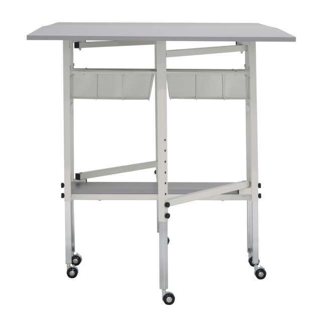 STDN-38011 Sew Ready Folding Hobby and Craft Table with Drawers 11