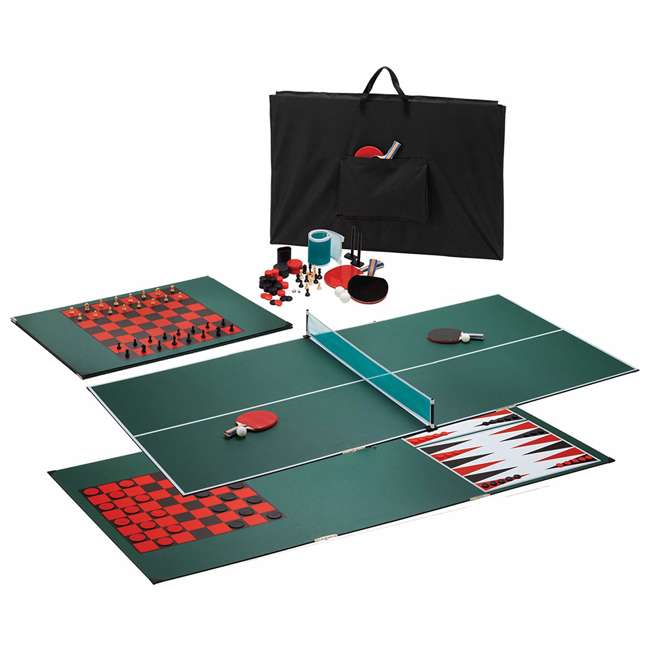 64-1006 VIPER Portable Table Tennis Ping-Pong Game Room Top+Bag (Open Box) 3