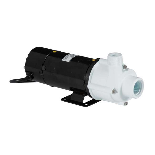 LG-582507-U-B Little Giant 1325 GPH 1/10 HP Magnetic Drive In Line Aquarium Pump (Used)
