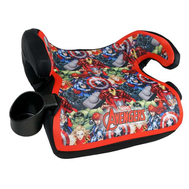 KE-4801AVG Kids Embrace Marvel Avengers Backless Booster Car Seat for Kids 4 Years and Up 1