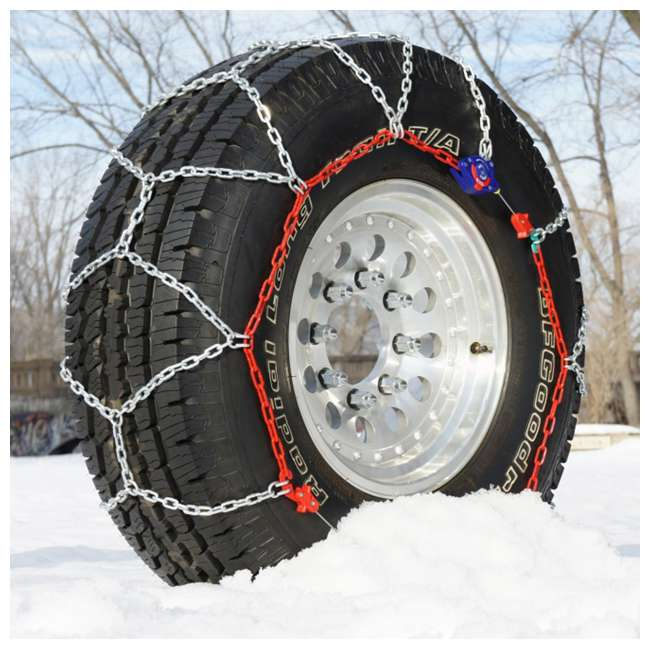 0231905 Auto-Trac 231905 Series 2300 Pickup Truck/SUV Traction Snow Tire Chains, Pair 1