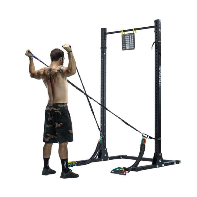 IESRS2 Crossover Symmetry Individual Exercise Package with Squat Rack Straps, Elite 3