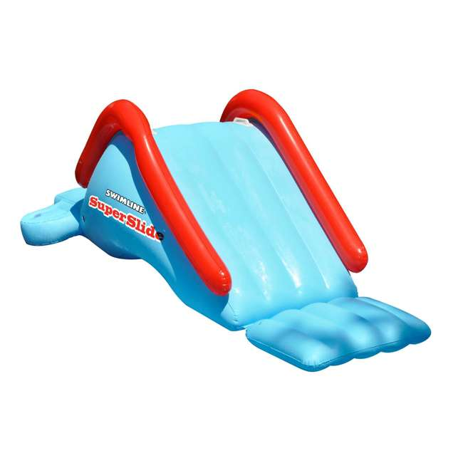 90809-U-A Swimline  Super Water Slide Swimming Pool Inflatable Toy  |  (Open Box) (2 Pack)