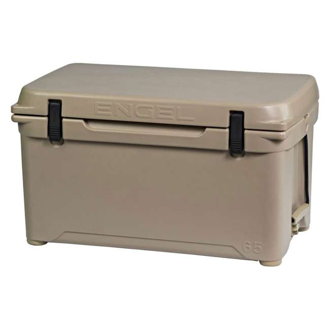 ENG65-T-OB Engel 65 High-Performance Roto-Molded Cooler, Tan(Open Box)