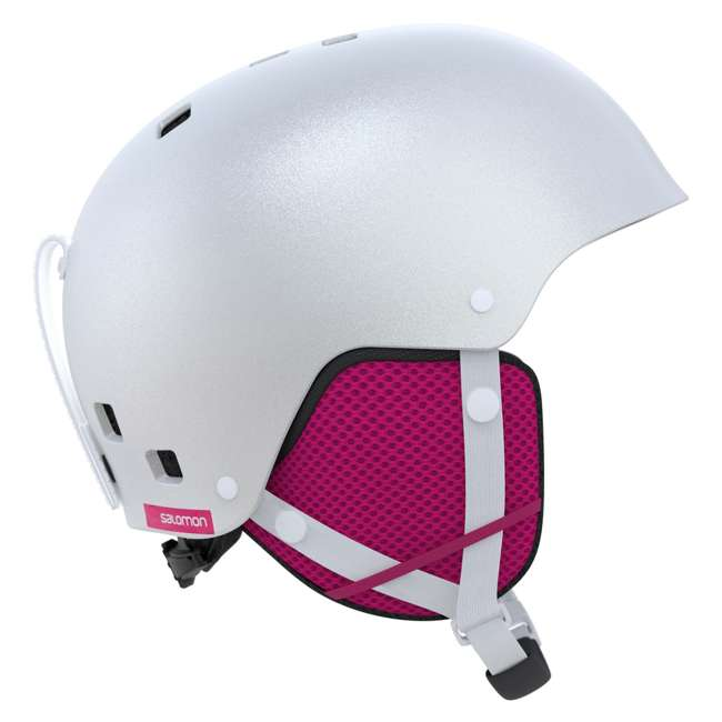L39916000 - JRM Salomon Kiana Kids Ski or Snowboard Helmet Size Junior Medium, White